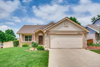 Broomfield Single Family Home Active: 2889 Elaine Drive