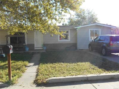 Commerce City Single Family Home Under Contract: 7496 Magnolia Street