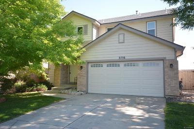Broomfield Single Family Home Active: 3756 Desert Willow Avenue