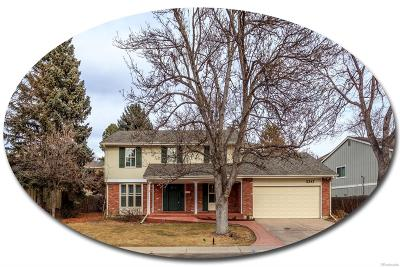 Centennial Single Family Home Active: 3347 East Geddes Drive