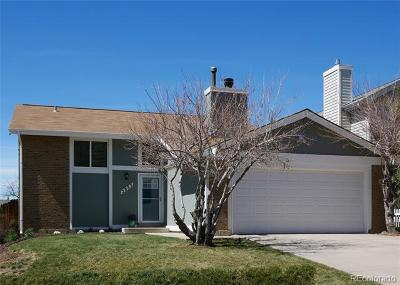 Aurora Single Family Home Active: 3883 South Biscay Street