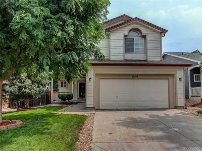 Highlands Ranch Single Family Home Under Contract: 10130 Spotted Owl Avenue