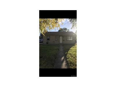 Commerce City Single Family Home Active: 5406 East 61st Way