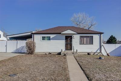 Denver Single Family Home Under Contract: 118 South Yates Way