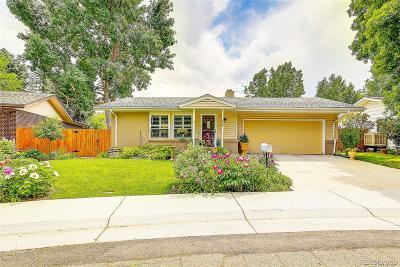 Arvada Single Family Home Active: 6584 Zang Circle