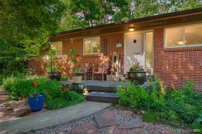 Wheat Ridge Single Family Home Active: 3295 Miller Street
