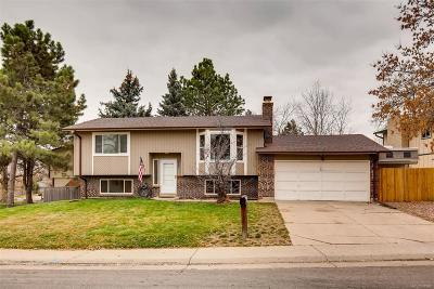 Littleton Single Family Home Under Contract: 7403 South Vance Street