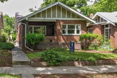 Denver Single Family Home Active: 721 South Ogden Street