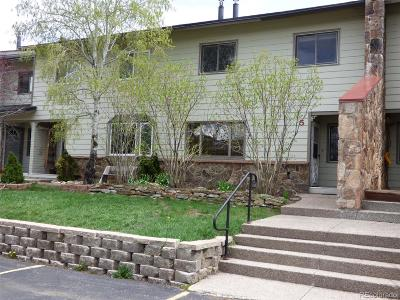 Steamboat Springs CO Condo/Townhouse Active: $252,000