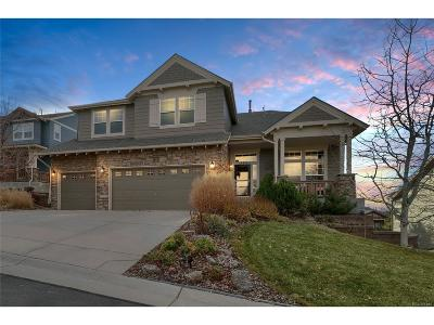 Castle Rock Single Family Home Active: 1575 Ridgetrail Court