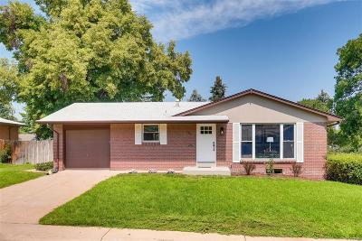 Centennial Single Family Home Under Contract: 3413 East Costilla Avenue