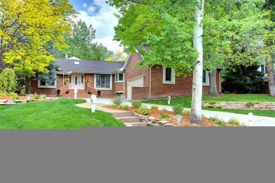 Cherry Hills Village CO Single Family Home Under Contract: $1,450,000