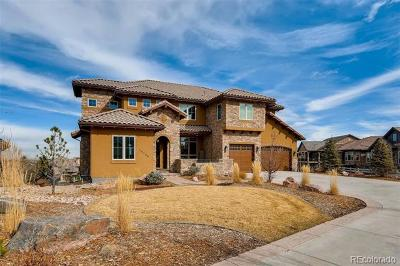 Highlands Ranch Single Family Home Under Contract: 10786 Rainribbon Road