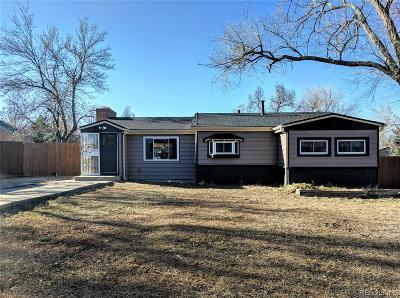 Lakewood CO Single Family Home Active: $360,000