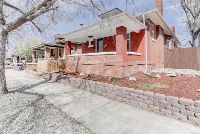 Denver Single Family Home Active: 3740 Grove Street