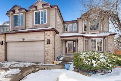 Highlands Ranch Single Family Home Under Contract: 9741 South Bexley Drive