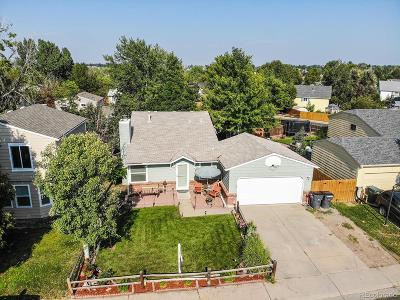Aurora Single Family Home Active: 4778 South Salida Court