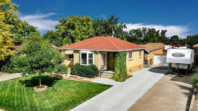 Denver Single Family Home Active: 2530 South Wolff Street