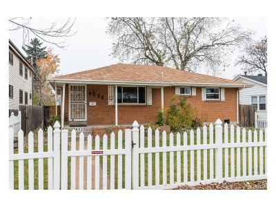 Englewood Single Family Home Under Contract: 4039 South Logan Street