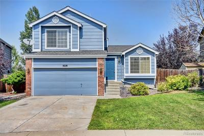 Centennial Single Family Home Under Contract: 5228 South Jericho Way
