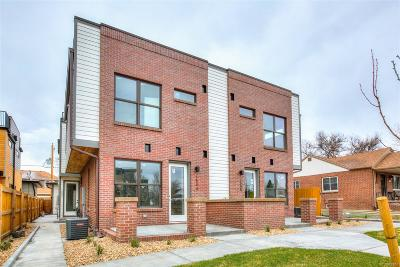 Denver Condo/Townhouse Active: 1541 Utica Street