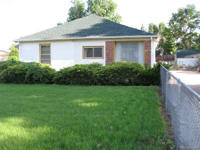 Commerce City Single Family Home Active: 7100 East 66th Place