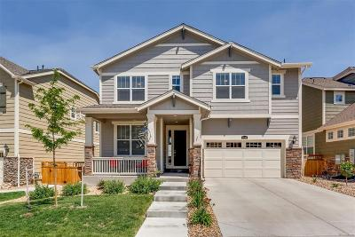 Castle Rock Single Family Home Active: 2539 Ambience Lane