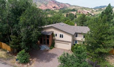 Morrison Single Family Home Active: 121 Red Rocks Vista Drive