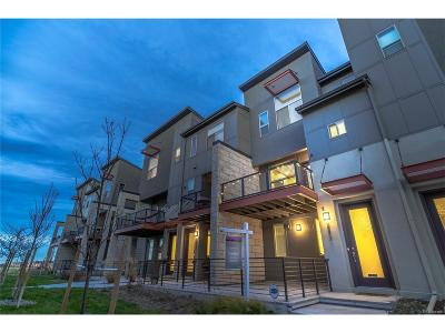 Denver Condo/Townhouse Active: 8873 East 55th Avenue