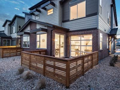 Lakewood Condo/Townhouse Sold: 12783 West Nevada Place #17