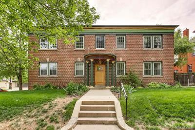 Denver Condo/Townhouse Active: 1374 Milwaukee Street #2