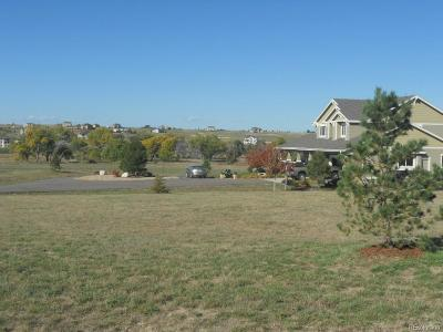 Parker CO Residential Lots & Land Under Contract: $153,500