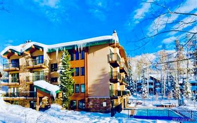 Steamboat Springs Condo/Townhouse Active: 2883 Burgess Creek Road #105