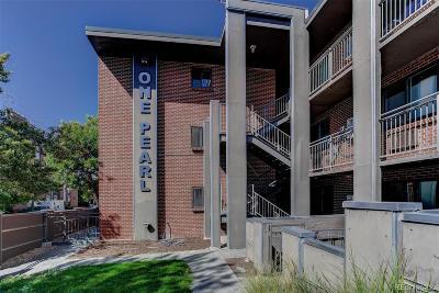 Denver Condo/Townhouse Active: 1 Pearl Street #302