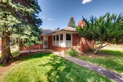 Boulder Single Family Home Active: 3111 Broadway Street