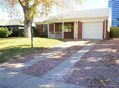 Denver Single Family Home Active: 1120 South Harrison Street