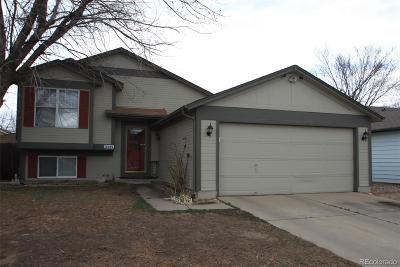 Aurora, Denver Single Family Home Active: 18889 East Carmel Circle