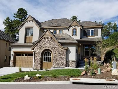 Castle Rock Single Family Home Under Contract: 6815 Northstar Circle