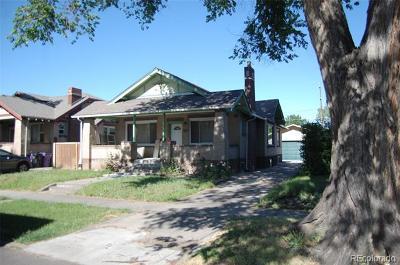 Denver Single Family Home Active: 1426 Meade Street