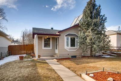 Edgewater Single Family Home Under Contract: 2575 Benton Street