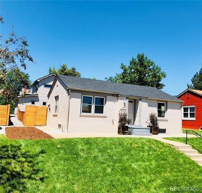 Denver Single Family Home Active: 4507 Eliot Street