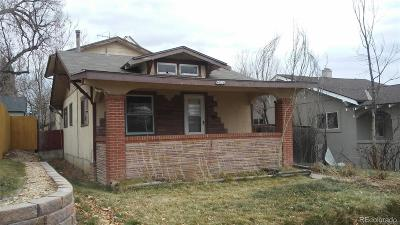 Denver Single Family Home Active: 4814 Raleigh Street