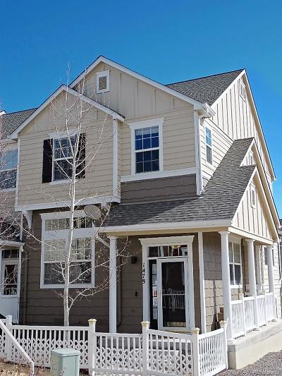 Castle Rock Condo/Townhouse Under Contract: 1479 Bergen Rock Street