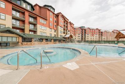 Steamboat Springs CO Condo/Townhouse Active: $84,000