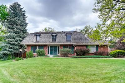 Littleton Single Family Home Under Contract: 5416 West Indore Drive