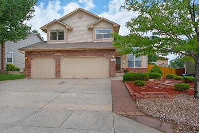 Briargate Single Family Home Under Contract: 3703 Cape Romain Drive