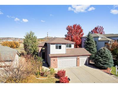 Castle Rock Single Family Home Active: 979 Whispering Oak Drive