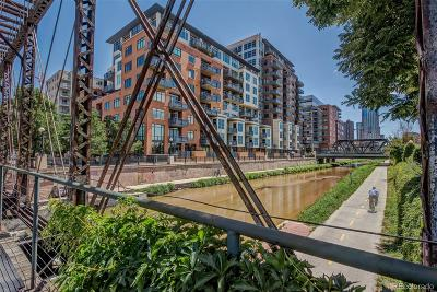 Denver Condo/Townhouse Active: 1401 Wewatta Street #810