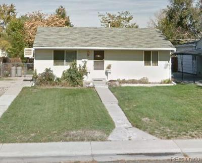 Commerce City Single Family Home Under Contract: 5411 East 65th Way