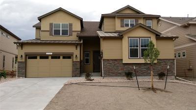 Castle Rock Single Family Home Under Contract: 2305 Purple Finch Court